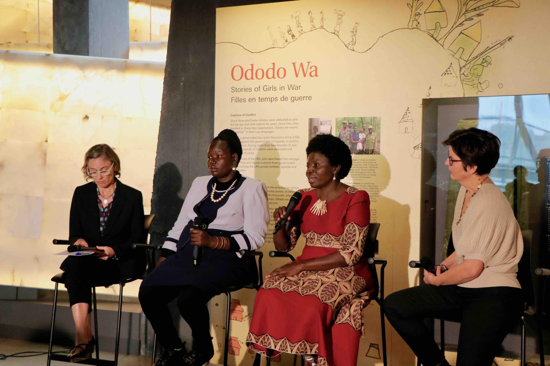 Exhibit Launch – Ododo Wa: Stories of Girls in War