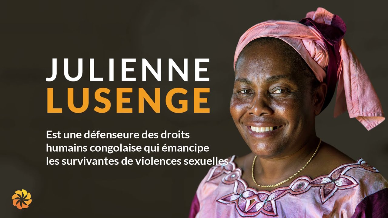 2021 Aurora Humanitarian Julienne Lusenge