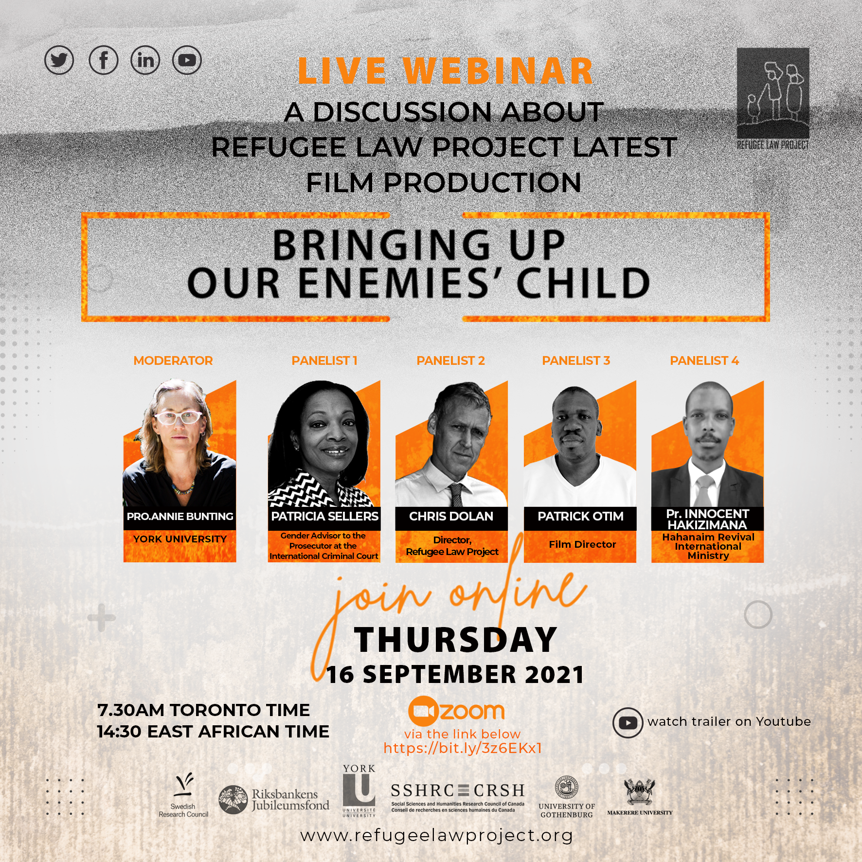 Bringing Up Our Enemies' Child – Webinar Launch